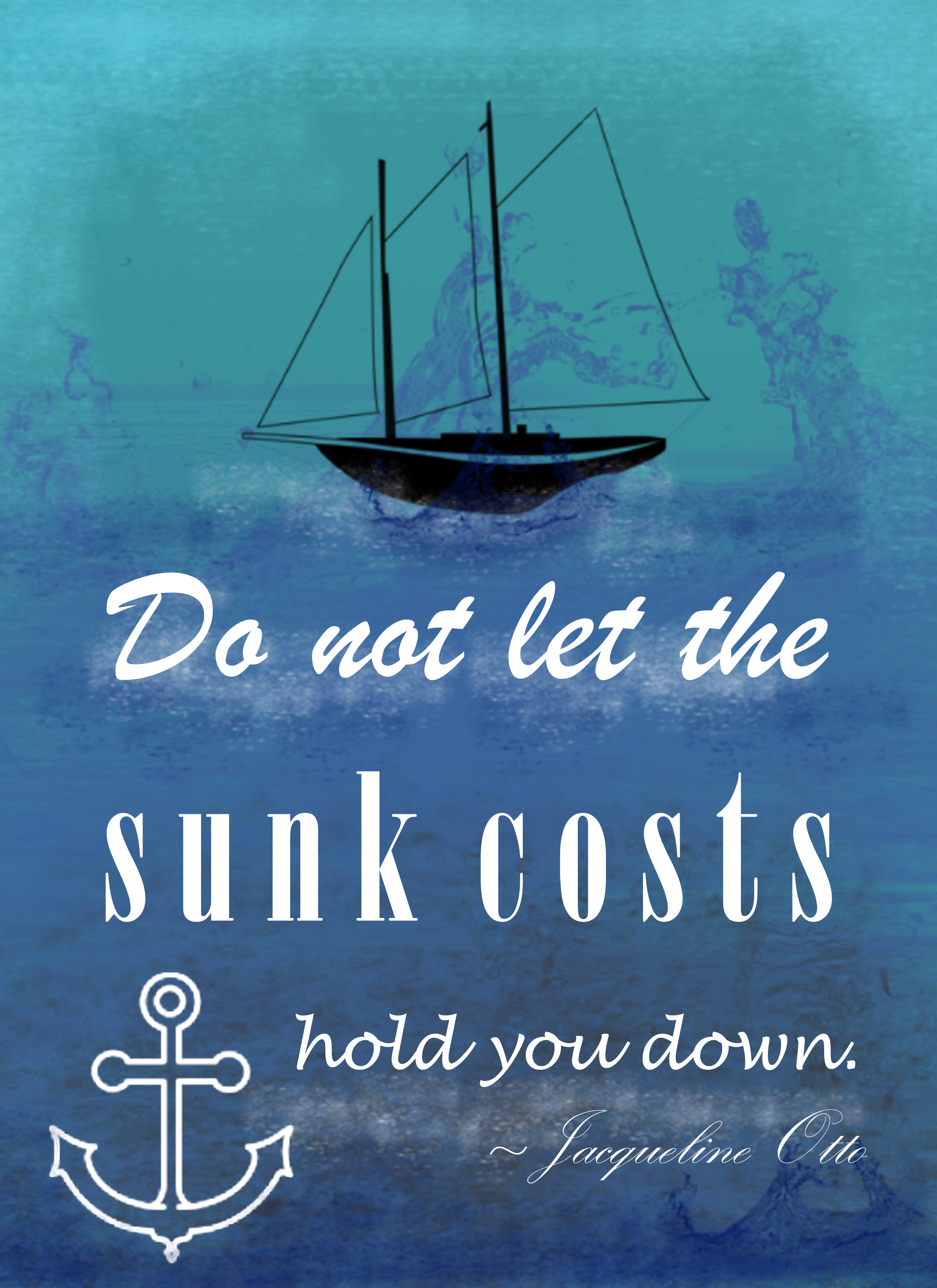 Don't Count the Sunk Costs