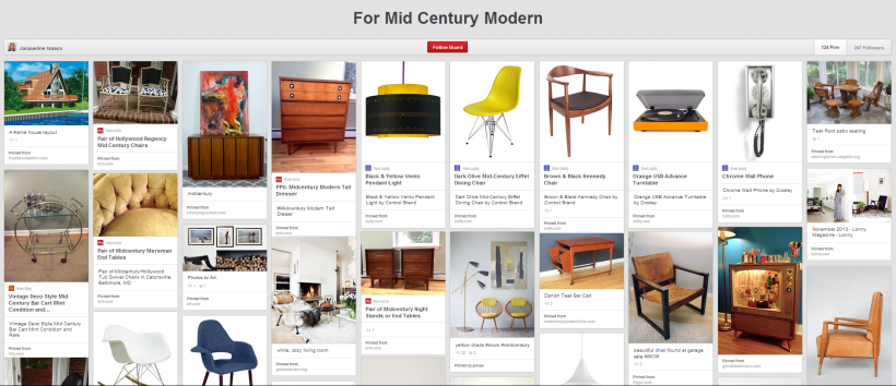 For Mid Century Moder